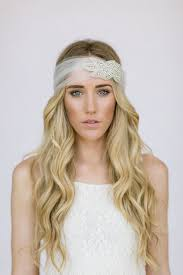 headband across forehead wedding headband rhinestone band satin tie