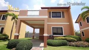 mara model house camella homes youtube