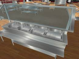steam table with sneeze guard second life marketplace tch commercial steam table with sneeze guard