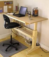 Build A Wooden Computer Desk 45 best standing desk images on pinterest standing desks desk