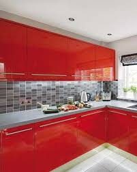 Kitchen Ideas For Small Kitchens by Best 25 Red Kitchen Cabinets Ideas On Pinterest Red Cabinets