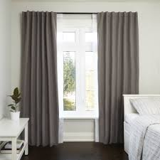 decor interesting double rod curtain for your beautiful window