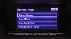lexus uk bluetooth compatibility rx unpair bluetooth phone with display audio youtube