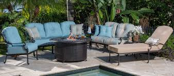 Backyard Collections Patio Furniture by Cast Aluminum Furniture Charleston Myrtle Beach U0026 Bluffton Sc