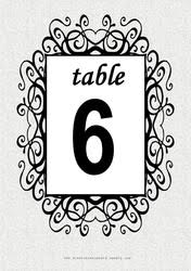 free table number templates free table numbers free diy printable wedding reception table