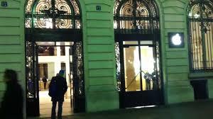 paris opera apple store part 1 the entrance youtube