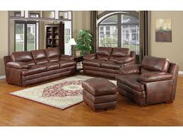 Leather Sofa Sets The Baron Leather Furniture Collection Features Thick Padded Arms