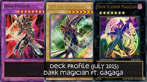 deck profile yu gi oh dark magician ft gagaga october 2015