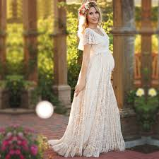 maternity dress maternity dress maternity photography props white lace maxi