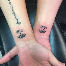 30 matching his and hers tattoos