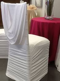 spandex chair sashes best 25 white chair covers ideas on wedding chair