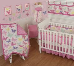 Pink Nursery Bedding Sets by Amazing And Attractive Crib Bedding Sets For Girls Butterflies