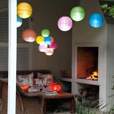 hanging paper lantern lights indoor hanging paper lights white star moon cut out paper star lantern