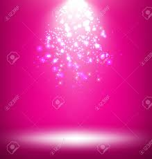palco iluminado com template luz no fundo rosa banco de imagens