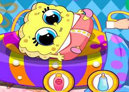 jeux de bob l 駱onge en cuisine bébé bob et sur jeux fille gratuit