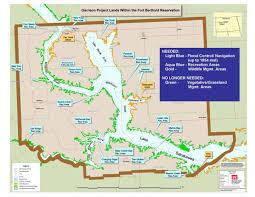 lake sakakawea map tribe to maintain access to lake sakakawea dakota