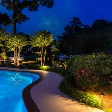 outdoor pool deck lighting beautiful custom pool lighting outdoor perspectives deck