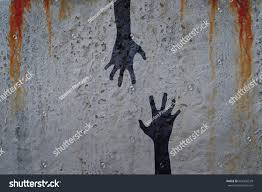corpse hands shadow on cement wall stock illustration 662456539 corpse hands shadow on cement wall and blood background zombie and halloween theme illustration