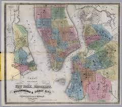 Map Of Hudson County Nj New York Brooklyn Williamsburgh U0026 Jersey City David Rumsey