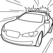 police car coloring pages to print learn language me