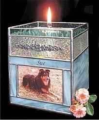 pet urns for dogs dog and photo candle glass stained pet urns roj1