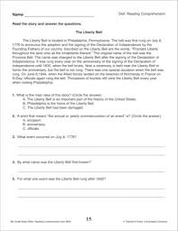 reading worksheets for 2nd graders mreichert kids worksheets