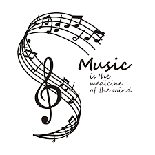 aliexpress com buy music is the medicine of the mind wall