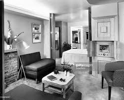 living room photography interior of living room 1950s style stock photo getty images