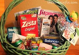 pregnancy gift basket how to make a welcome to pregnancy basket where was this like 2
