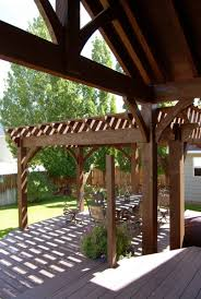 pergola design magnificent garden pergola with roof attached