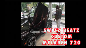 custom mclaren 720s swizz beatz makes his own custom mclaren 720 2017 youtube
