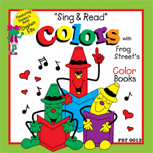 preschool color books sing u0026 read u201d color collection cd u2013 melody house music