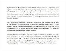 love letter to my girlfriend sample the best letter sample