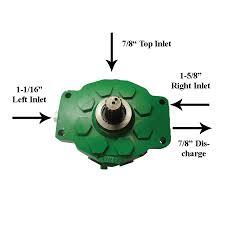 john deere ar94660 1401 1205 hydraulic pump