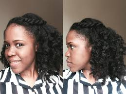Half Up Half Down Hairstyles Black Hair Quick And Easy Natural Hairstyle Half Up Half Down Youtube