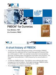 pmbok for dummies product development project management