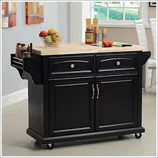kitchen rolling island granite top kitchen cart roll around