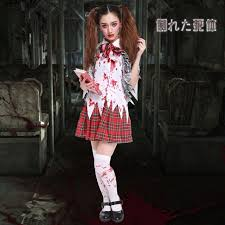 scary girl costumes school girl costume scary dead fancy