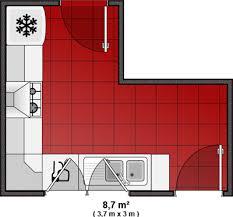 amenager cuisine 6m2 photo le guide de la cuisine plan de cuisine avec décrochement