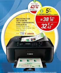 bureau vallee fr imprimante canon multifonction jet d encre 4 en 1 mx395 couleur a4