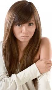 ladies hair styles with swept over fringe 25 hairstyles with long bangs hairstyles haircuts 2016 2017
