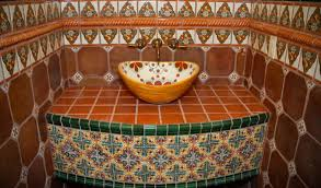 mexican bathroom ideas awesome mexican tile bathroom ideas gallery home inspiration