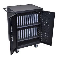 laptop charging station home luxor lltp24 b laptop tablet chromebook charging computer cart