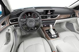 Audi A6 1999 Interior 2016 Audi A6 And A7 Get Upgraded Engines Bound For L A Show