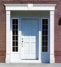 Frame Exterior Door Front Door Exterior Frames Exterior Doors Ideas