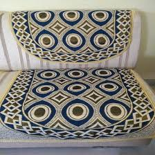Sofa Covers Online In Bangalore Blue Golden Cream Sofa Cover Floral Design Pack Of 6 U2013 Griiham