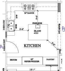 kitchen floor plans kitchen alluring island kitchen floor plans best 10 ideas on with