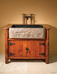 rustic half bath vanity vanity decoration