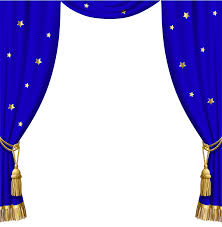 Gold And Blue Curtains Transparent Blue Curtains With Gold Tassels And Stars Gallery