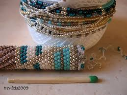 crochet beads necklace pattern images Bead crochet necklace pattern images jpg